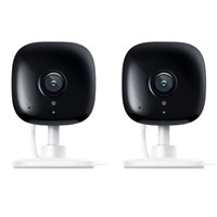 TP-Link 2 Pack KC100 Kasa Smart Spot 1080p Full-HD Security Camera with Night Vision