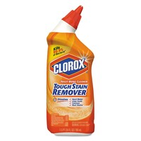 12 case Clorox Toilet Bowl Cleaner, Tough Stain Remover, 24oz Bottle