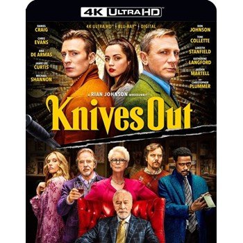 Knives Out 4K Ultra HD Blu-ray Includes Digital Copy
