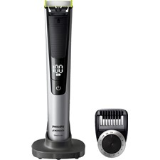 Philips Norelco OneBlade Pro Wet/Dry Trimmer - Black/Green