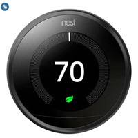 Google Nest Learning Thermostat (Black)