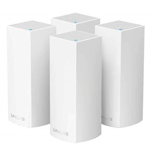 4-Pack Linksys Velop Tri-Band Whole