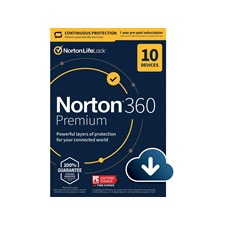 Norton 360 Premium 2021 for 10 Devices