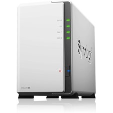 Synology DiskStation DS220j $136, DS920+ $440, DS418(old model) $367