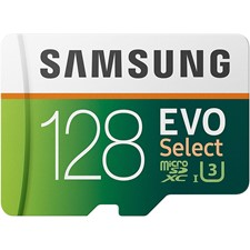 Samsung EVO Select microSDXC Memory Card w/ Adapter