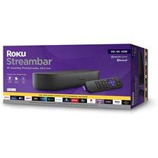 Roku Streambar Streaming Media Player & Premium Audio