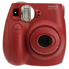 Fujifilm Instax Mini 7S Instant Film Camera, Red